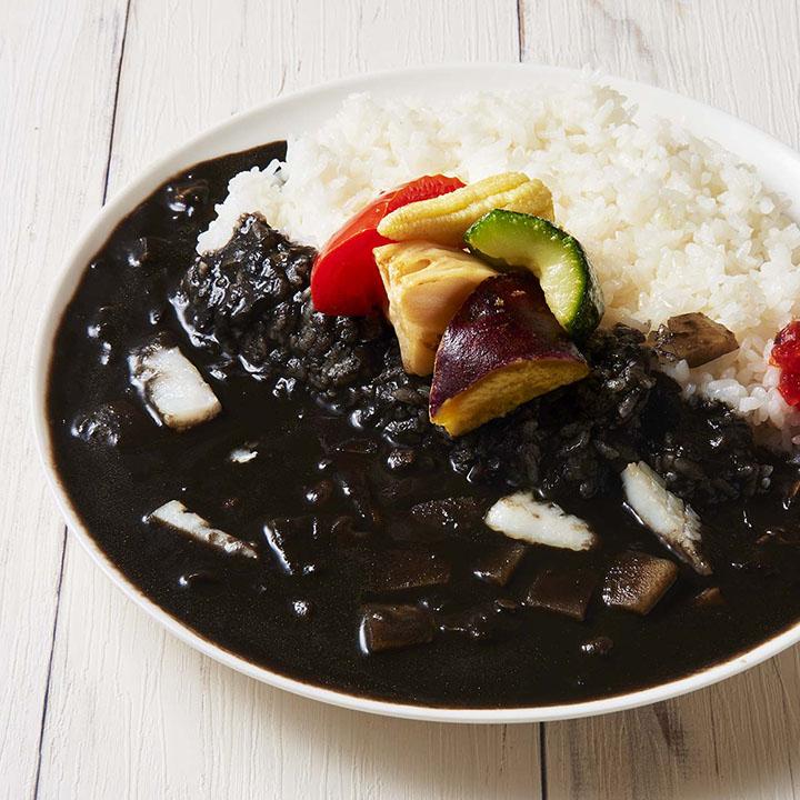 【キメラ監修】ゴロゴロ野菜の黒カレー