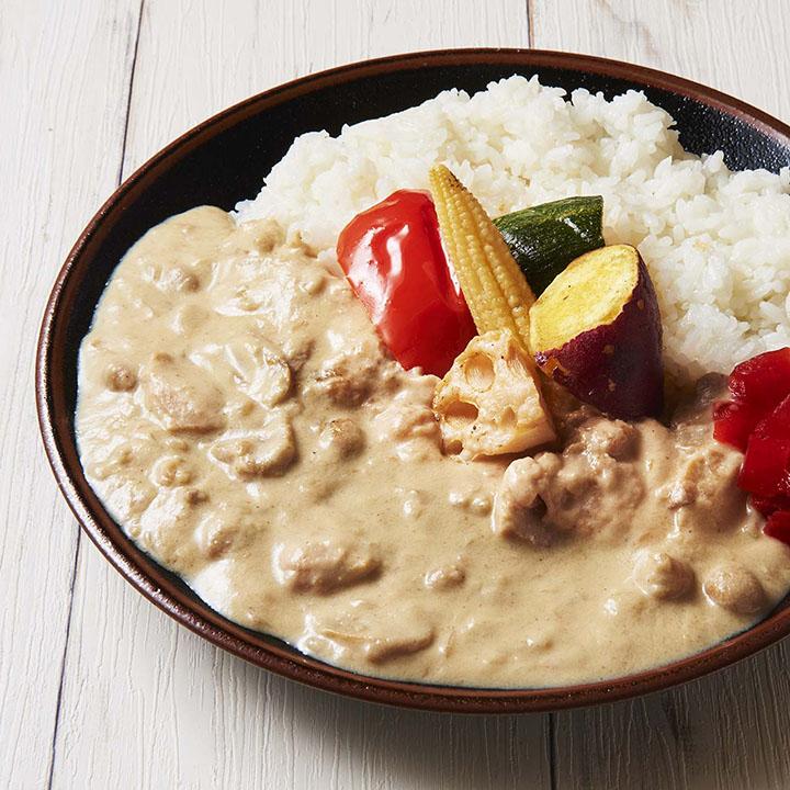 【キメラ監修】ゴロゴロ野菜の白カレー