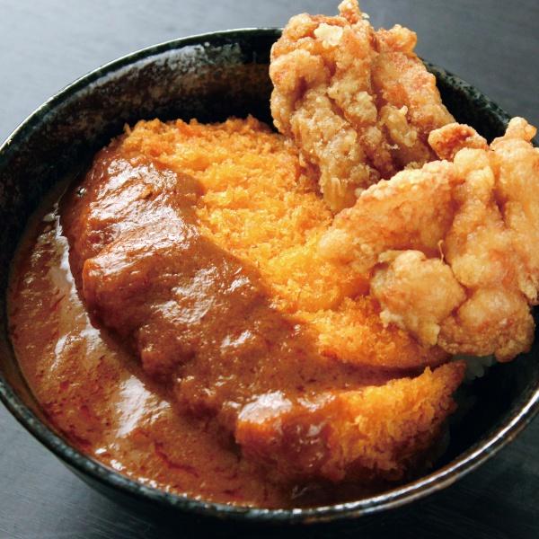 デミカツ丼(300)(からあげ2個付)