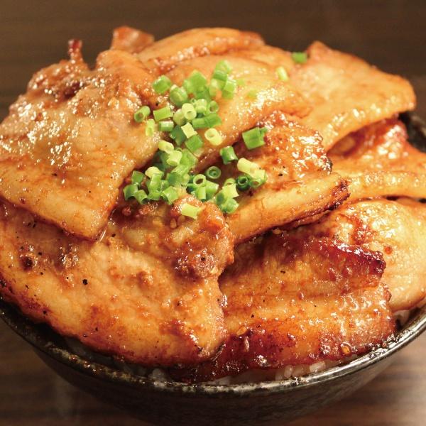 甘辛みそ豚丼ダブル(500)