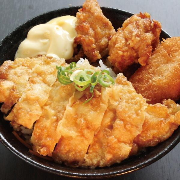 チキン南蛮丼(400)(唐揚2+コロッケ1)