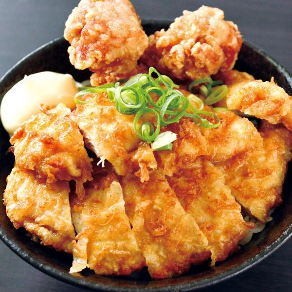 チキン南蛮丼ダブル(300)(からあげ2個付)