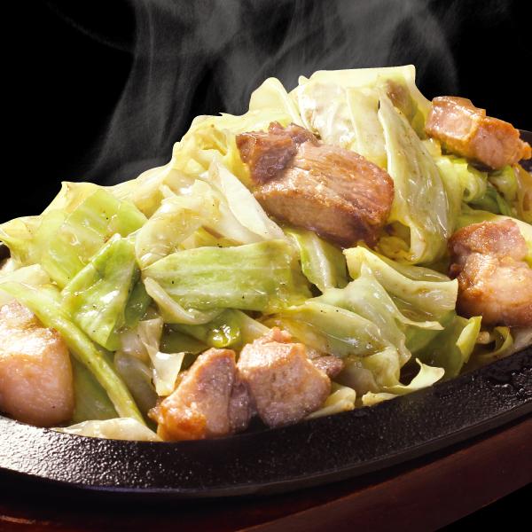 野菜たっぷり豚ポン酢1人前(単品)